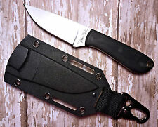 BENCHMARK SMALL FIXED BLADE KNIFE WITH CLIP-ON BELT OR NECK SHEATH BMK001