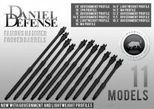 "MADBULL Daniel Defense licensed Aluminum 14.5"" Gov't-Mid Outer Barrel Airsoft M4"