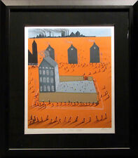 "Mackenzie Thorpe ""Time without Shadow"" Hand Signed w/custom frame Make an Offer!"