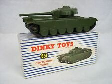 Dinky Toys 651 Centurion Tank with Original Box