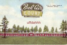 BEL AIR COURT U.S. 1 WAYCROSS, GA Owned and operated by J.C. & Buford Henry 1955