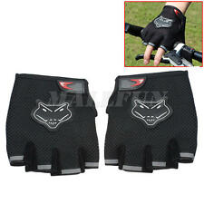 Outdoor Cycling Bicycle Mountain Riding Bike Breathable Half Finger Gloves