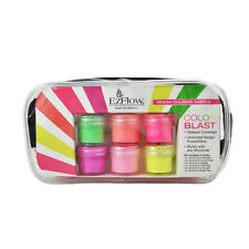 EzFlow Design Colored Acrylic Kit - Neon Brights/Color Blast Collection (59096)