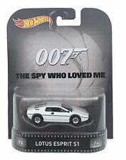 HOT WHEELS 1/64 Retro Entertainment Lotus Esprit S1 James Bond 007 Diecast Car