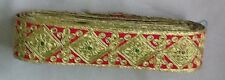 Fancy designer broderie lace indian trim ribbon craft sari border 1 mètre