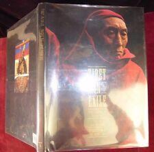 TIBET in EXILE/BUDDHISM/DALAI LAMA/JANE PERKINS/RAGHU RAI/PICS/HUGE 1990 1st