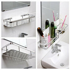New Wall Mount Aluminium Shelf  Floating Home Interiors Bathroom Shelf Hold