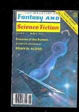 The Magazine of Fantasy and SF 6.1978 Aldiss Eklund Haldeman