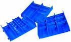 Muldenteile blau - Schubladeneinsatz - Einteilungsmaterial - Kompaktmulden