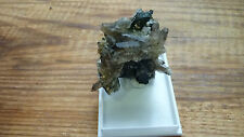 Smokey quartz,Aegirine,actinolite,feldspar crystal 5cm natural shape unpolished