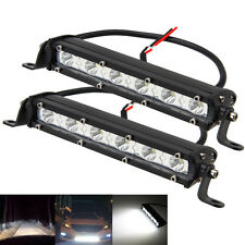 "2PCS 17""  Zoll Combo LED Work Light Bar Off road Driving Jeep SUV ATV Truck 4WD"