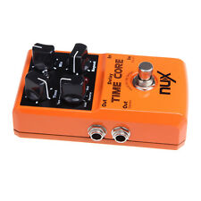 Orange NUX Time Core Gitarre Guitar Effect Pedal 7 Delay Models True Bypass PRO