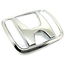 "OEM Honda 92-95 Civic 3DR Hatchback Rear ""H"" Emblem Chrome Badge EG Genuine Part"