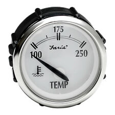 FARIA GP7799A NEW PORT SERIES 2 INCH BOAT TEMP GAUGE