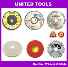 Mega Combo Offer - Wheels and Blades Suitable for all 4inch Angle Grinder