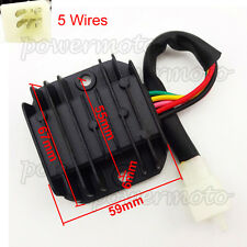 5 Wire Voltage Regulator Rectifier For GY6 50 70 90 110 125cc 150cc ATV Scooter