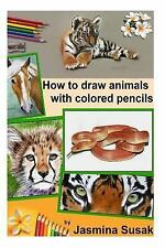 How to Draw Animals with Colored Pencils : Learn to Draw Realistic Animals by...