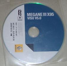 Atelier Manuel équipement électrique/schémas sur DVD renault megane III x95 -10/2009