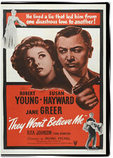 They Won't Believe Me 1947 DVD - Robert Young FULL 95 MINUTE NOIR CLASSIC