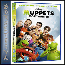 MUPPETS MOST WANTED - Ricky Gervais    **BRAND NEW DVD**