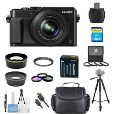 Panasonic LUMIX DMC-LX100 Digital Camera (Black) !!! PRO BUNDLE !! BRAND NEW!!