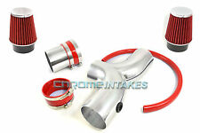 RED DUAL 03 04 05 06 07-09 DODGE RAM/DURANGO/ASPEN 5.7L V8 HEMI TWIN AIR INTAKE