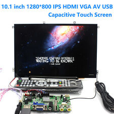 10.1 inch 1280x800 Capacitive Touch Screen IPS Digital LCD Monitor Display HDMI
