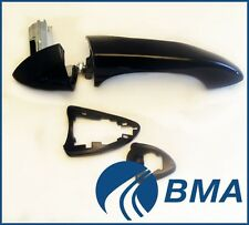 Bmw X5 E53 Outside Door Handle Right Side OEM 51218257738 (Black, Gloss)