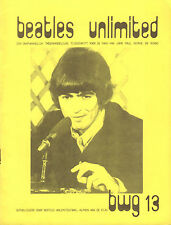 BEATLES UNLIMITED BWG 1978 nr. 13 - DUTCH MAGAZINE FOR FANS
