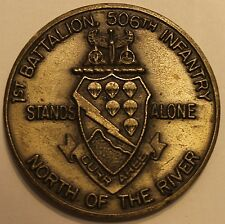 2nd Infantry Division ID 1st Battalion 506th INF Currahee Army Challenge Coin