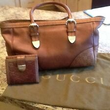 Authentic Gucci Handbag And Matching Wallet