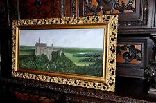 Neuschwanstein Castle old oil Painting