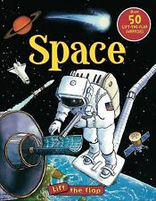 Space Lift-the-Flap (Lift-the-Flap Tab Books)-ExLibrary