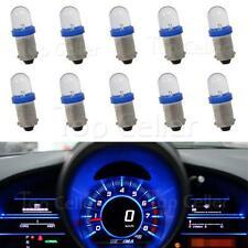 10pcs Ba9s 1895 Blue LED Bulb Instrument Cluster Gauge Dash Speedometer Light