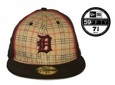 Men's Plaid and Black Detroit Tigers MLB 59FIFTY Cap: Size 7 3/8