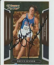 "BRUCE ""CAITLYN"" JENNER AUTOGRAPH 2008 SPORTS LEGENDS CARD SIGNED"