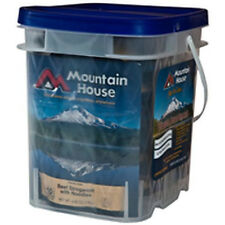 2 - Mountain House Classic Assortment Buckets - 58 Servings Freeze Dried Food
