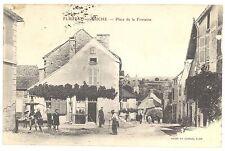 CPA 21 - FLEUREY sur OUCHE (Côte d'Or) - Place de la Fontaine - Animée