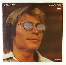 "12"" LP - John Denver - Autograph - B4715 - washed & cleaned"