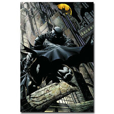 Superheroes Batman Arkham City Game Comic Art Silk Poster Print 24x36 inch 006