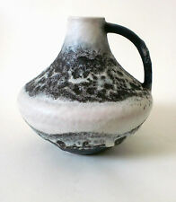 "60s Carstens fat lava Keramik Vase ""200"" west german ceramic Gerda Heuckeroth"