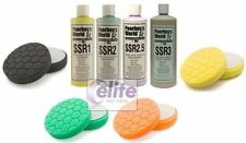 Poorboy's Complete SSR Polishing & Compounding Set & Hex Machine Polishing Pads