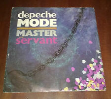 "Depeche Mode 45 Giri "" MASTER AND SERVANT-(SET ME FREE)REMOTIVATE ME "" Mute"