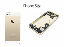 BACK COVER POSTERIORE COMPLETA ASSEMBLATA IPHONE 5S ORO CHAMPAGNE QUALITA' AAA+