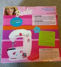 Mattel 11301 Mechanical Sewing Machine, Children, Barbie, Pink