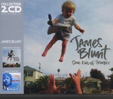 "JAMES BLUNT ""SOME KIND OF TROUBLE/BACK TO BEDLAM"" 2 CD NEU"