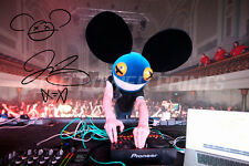 DEADMAU5 SIGNED PHOTO PRINT POSTER - 12 X 8 INCH  A+ QUALITY - WHILE(1 2)