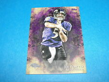 2014 Inception JOE FLACCO #4 Purple SP #05/99 Jersey Number BALTIMORE RAVENS