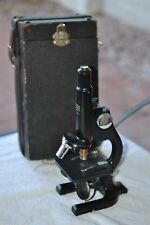 Vintage SPENCER MICROSCOPE W/Case