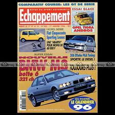 ECHAPPEMENT N°335 BMW M3 FERRARI F 355 CINQUECENTO SPORTING PORSCHE 968 CS 1996